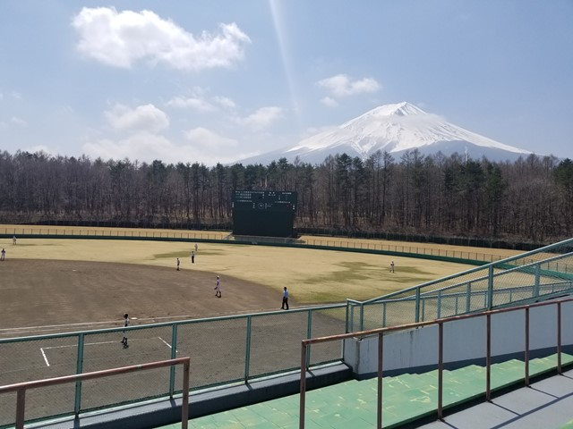 富士北麓公園野球場